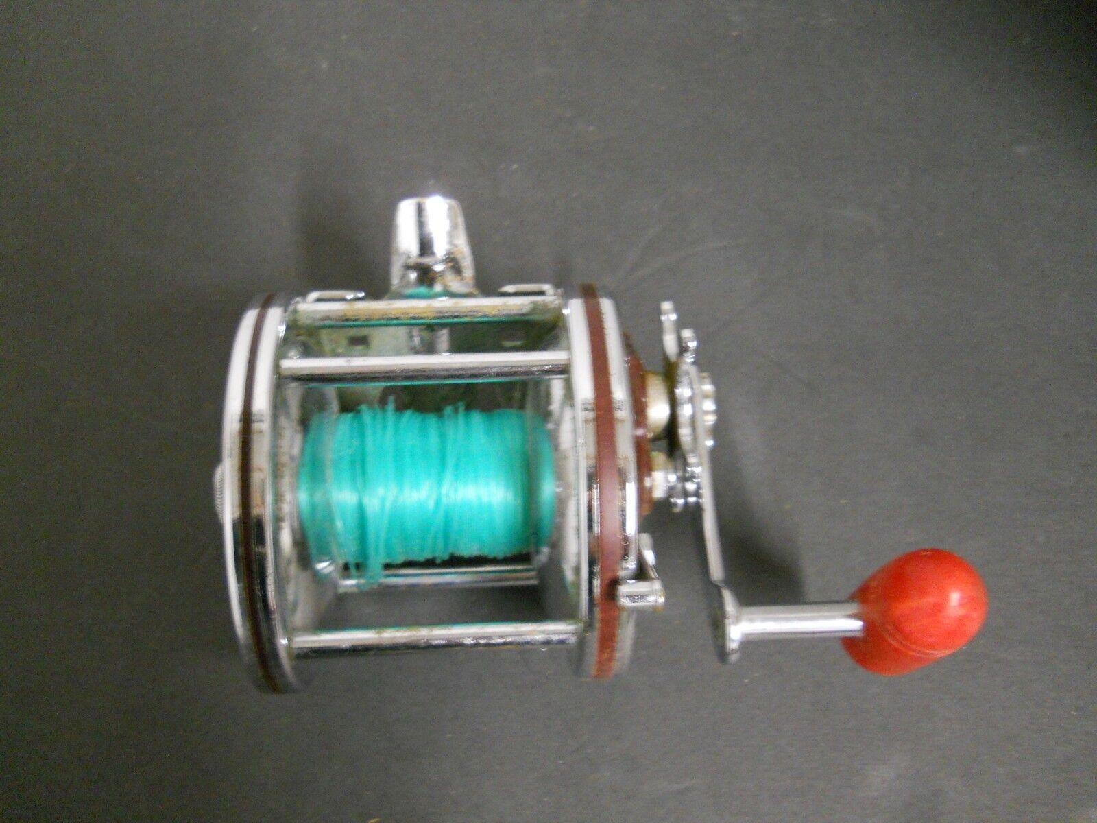 Vintage Penn Special Senator H 112 H 3/0 H Senator Level Wind Baitcast Fishing Reel ROT df3ca6