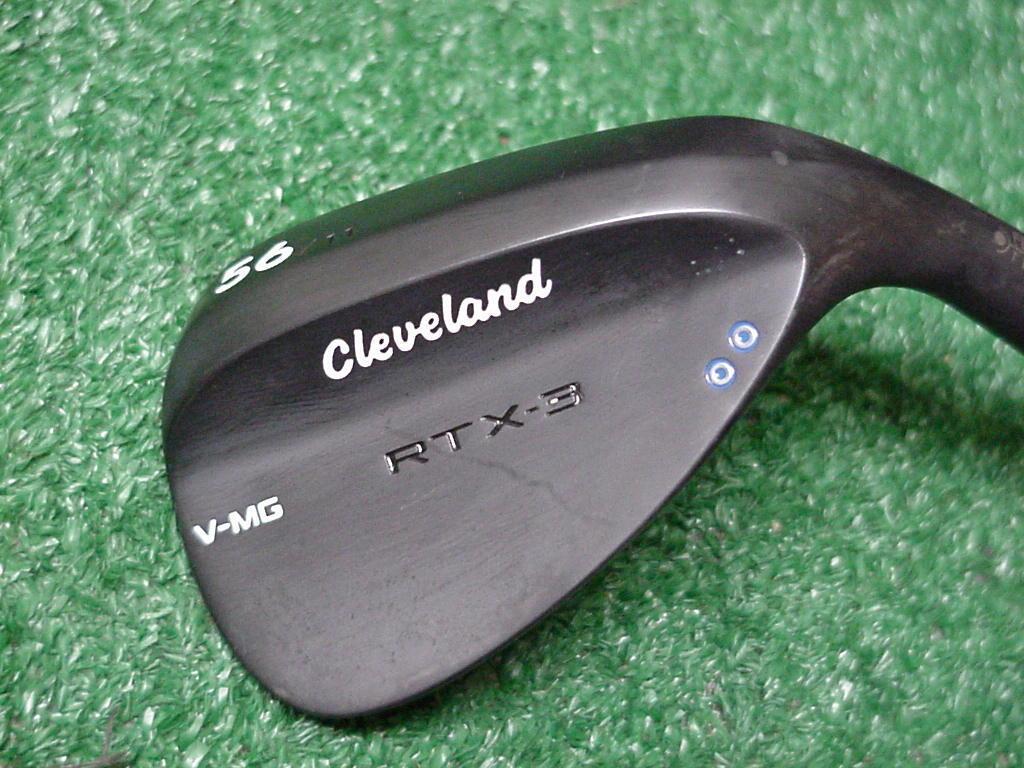 Muy buen negro Cleveland RTX-3 V-mg 56 Grados Sand  Wedge 11 rebote  excelentes precios