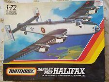 Matchbox 1:72 Handley Page Halifax Plastic Aircraft Model Kit #PK-604 / VTG KIT