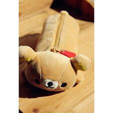 New San-x Rilakkuma Relax Bear Cute Make Up Pencil Case Storage Bag