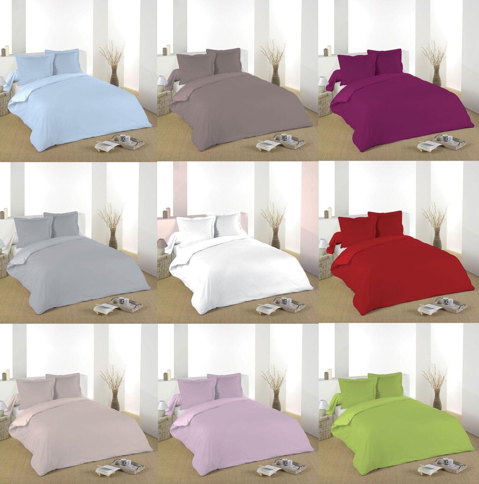 Bettwäsche 5 teile Bettbezug 260 x 240 + 3 bezüge + spannbettuch 160