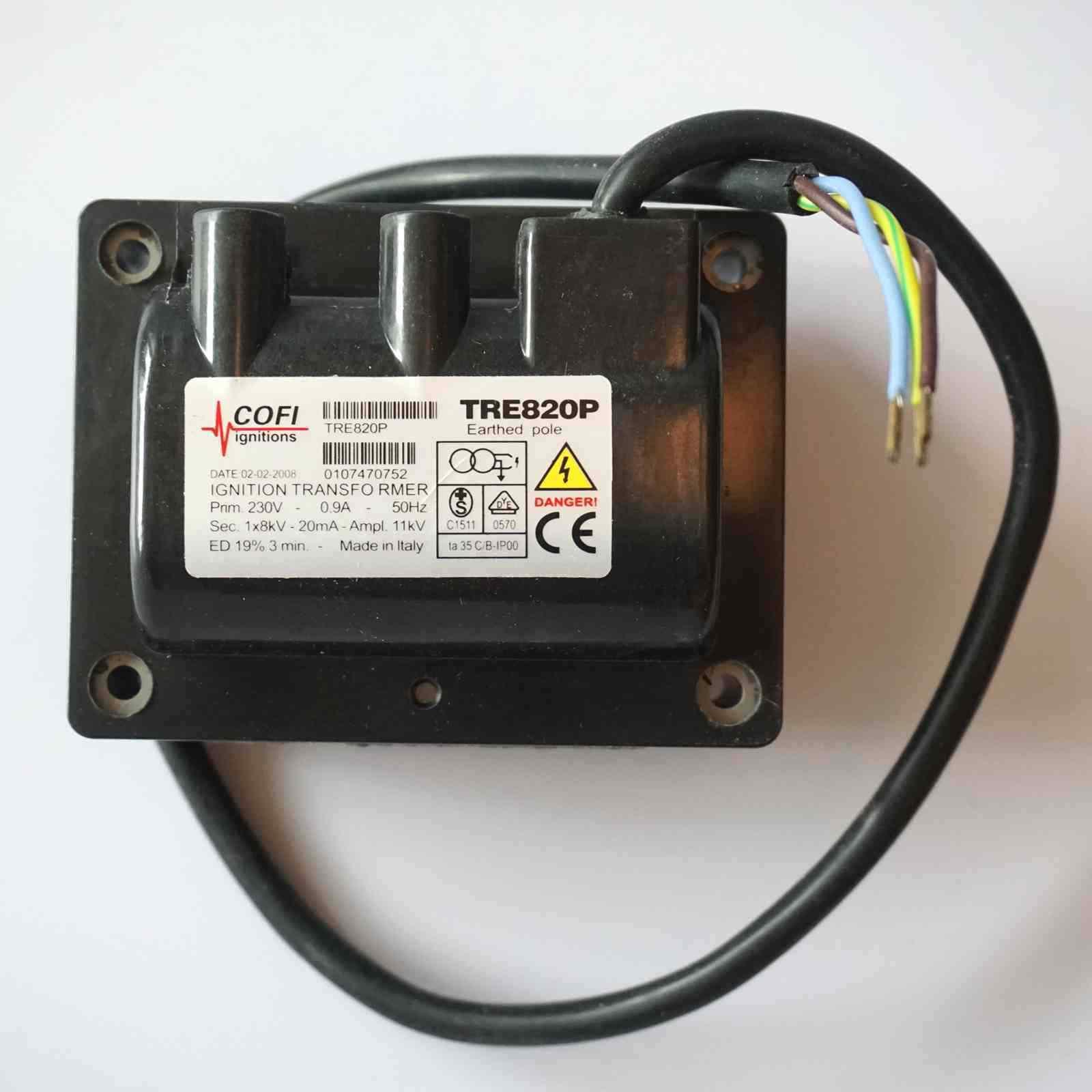 1PC Ny TRE820P För tändtransformator för COFI för brännare