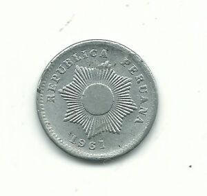 14 Available! High Grade 1951 Peru 1 Centavo Beautiful! 1 Coin Only