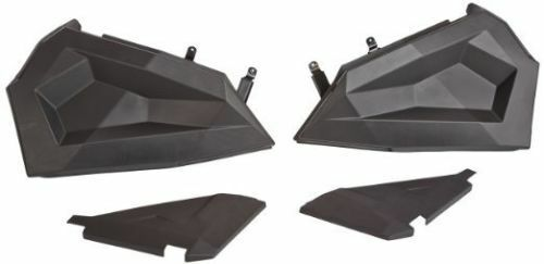 OEM BLACK LOWER HALF DOOR INSERTS FOR 2015-2016 POLARIS RZR 900 1000 XP S TURBO