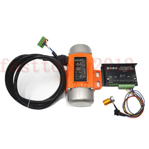 Speed Controller CNC Mini 60W 12V DC Brushless Vibration Vibrator Motor