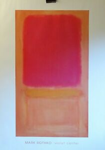 Mark-Rothko-authorised-poster-print-violet-centre-DACS-1999