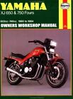 Owners' Workshop Manual: Yamaha XJ 650 and 750 Fours, '80-'84 No. M738 by John Haynes and Pete Shoemark (1988, Paperback)