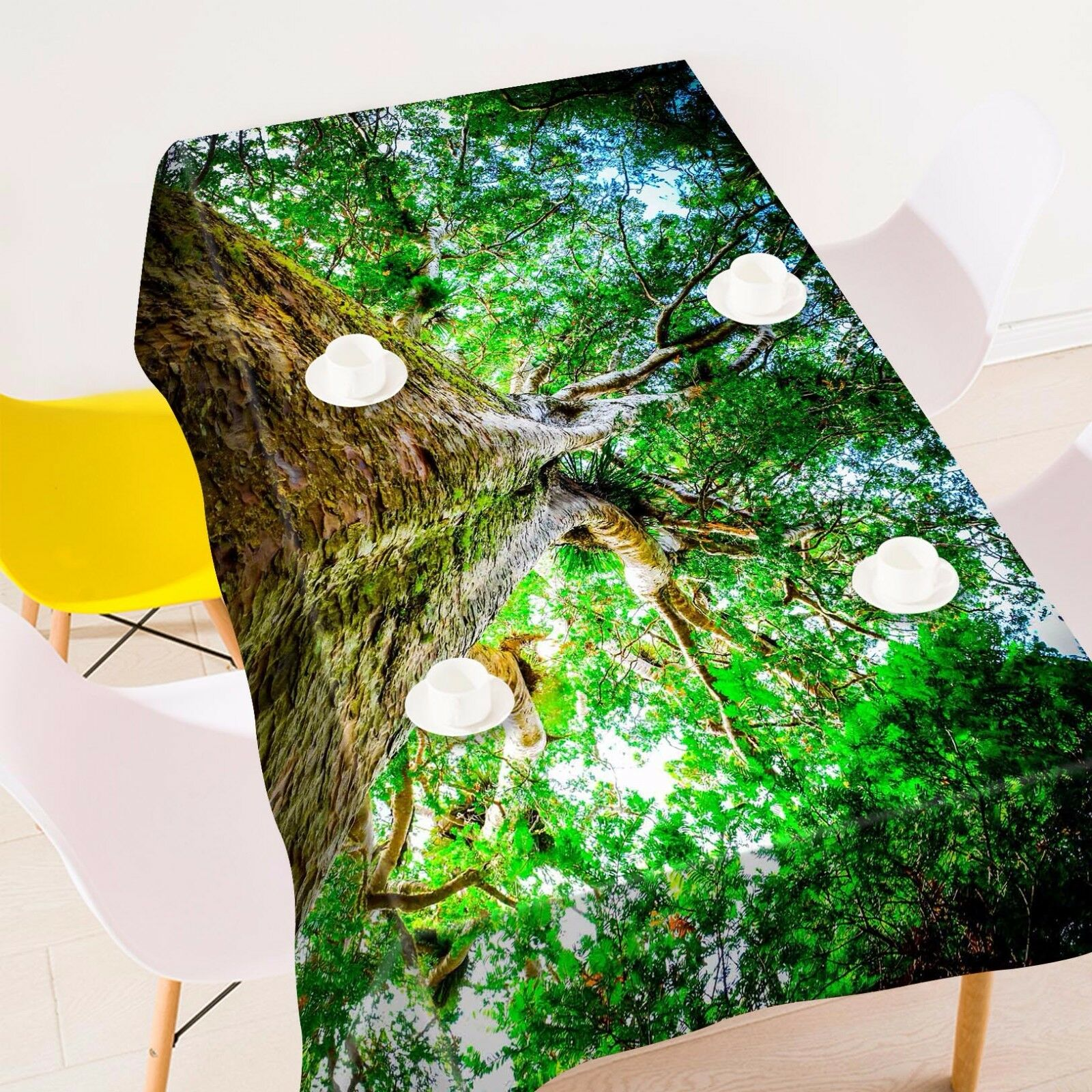 3D Tree 880 Tablecloth Table Cover Cloth Birthday Party Event AJ WALLPAPER AU