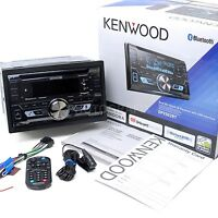 Kenwood Double Din Bluetooth Cd Player Usb/aux Car Radio Receiver | Dpx502bt on sale
