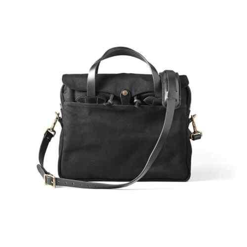 Filson Original Briefcase Leather /& Rugged Twill Laptop Bag