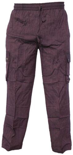 Pantalone unita cotone tinta elastico bassa righe leggera a nepalese in a vita vita di Onz1Or7