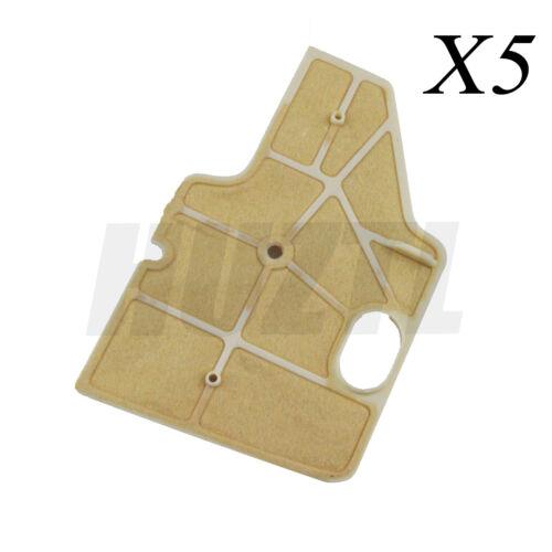 5PCS Air Filter Cleaner For Stihl 070 090 090G 090AV Chainsaw OEM 1106 120 1602