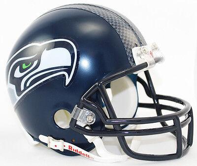 SEATTLE SEAHAWKS NFL Football Helmet BIRTHDAY WEDDING CAKE TOPPER DECORATION