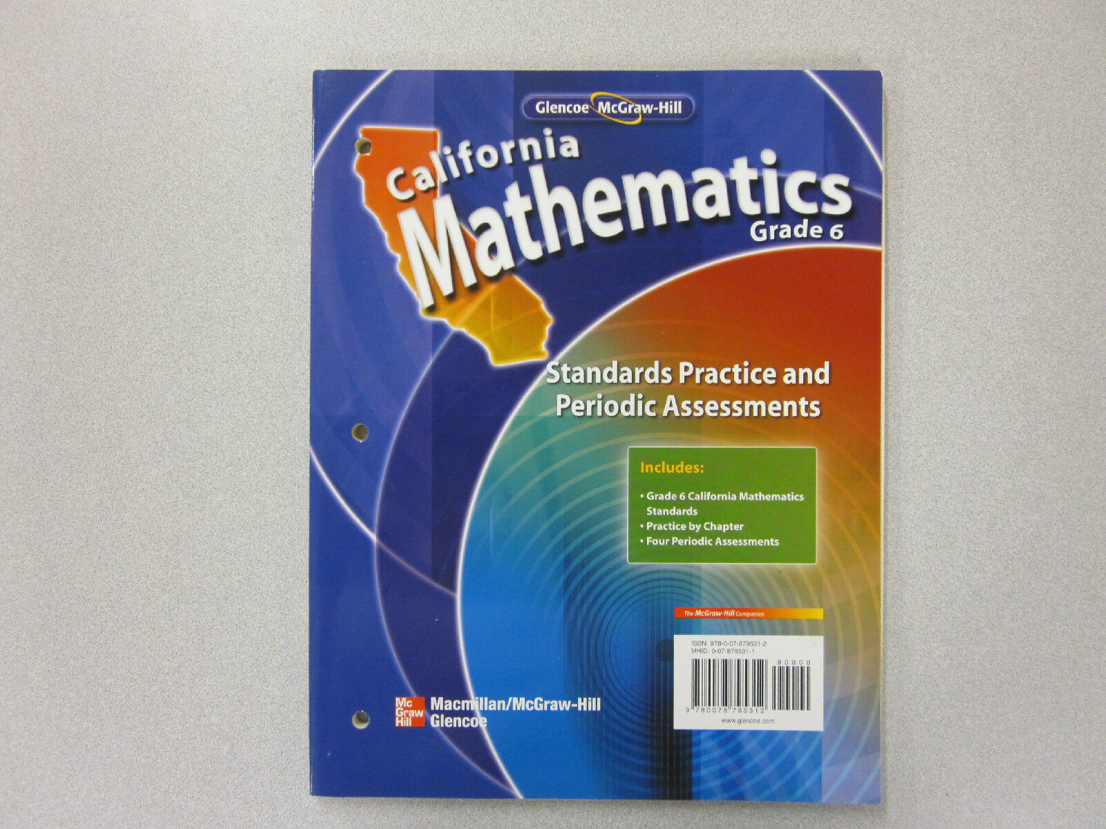 California Mathematics Grade 6 Standards Practice and Periodic Assessments  for sale online   eBay