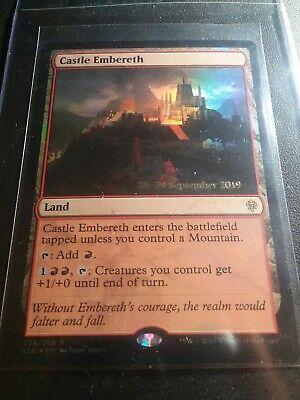MTG Castle embereth EXC-Castle bracerocca-ELD-Magic