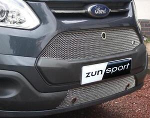 Details about Zunsport Ford Transit Custom 13 On Front Stainless Grille No  Parking Sensors