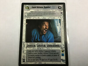 Star-Wars-Game-Card-Lando-Calrissian-Scoundrel-Reflections-III-Light-Side