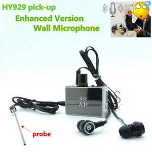 Ear Listen Through Wall Device Monitor Bug Wiretapping Microphone USB Voice