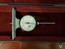 Scherr Tumico Dial Indicator Depth Gage No 1001