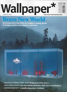 WALLPAPER* UK Design Magazine - January 2020 *BRAVE NEW ...