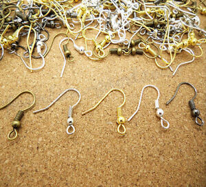 100-500Pcs-Earring-Hooks-Jewellery-Making-Findings-DIY-Craft-Wire-Clasp-Earwire