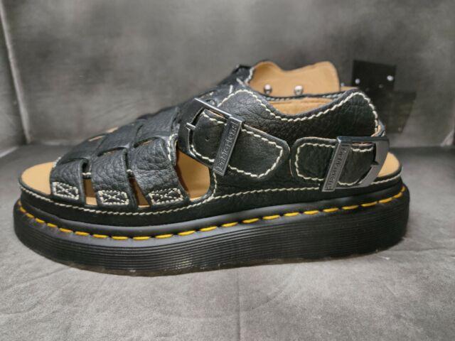 Dr. Martens Arc Black Sandals # 8092 Size 6 Uk5 #24830001 (AA62)