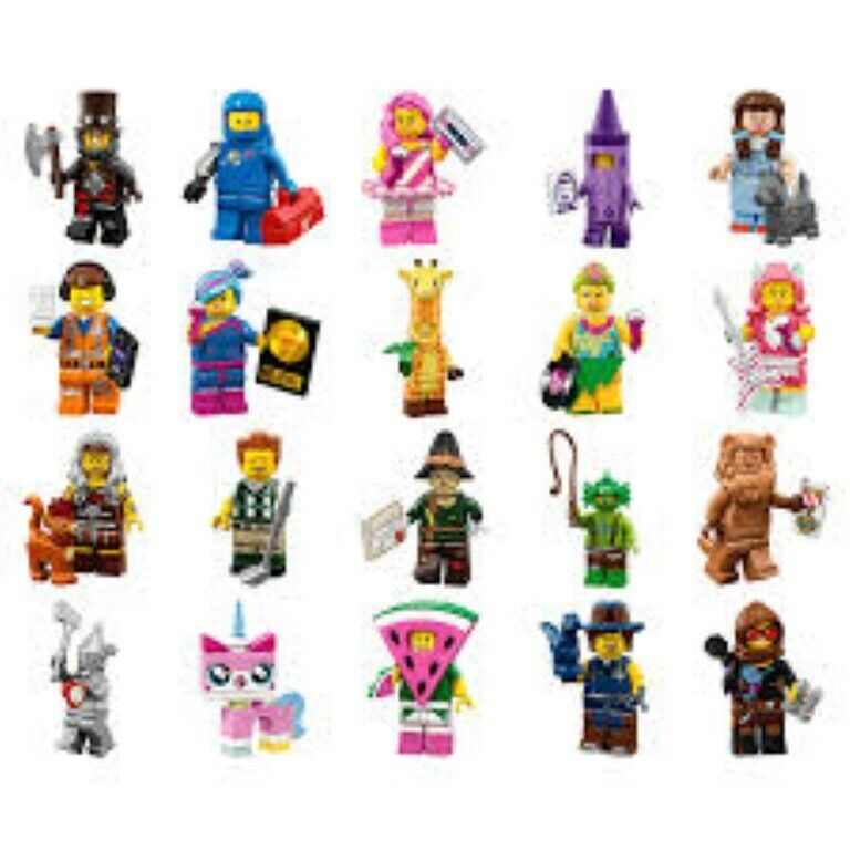The LEGO Movie 2 Minifigures Complete Set