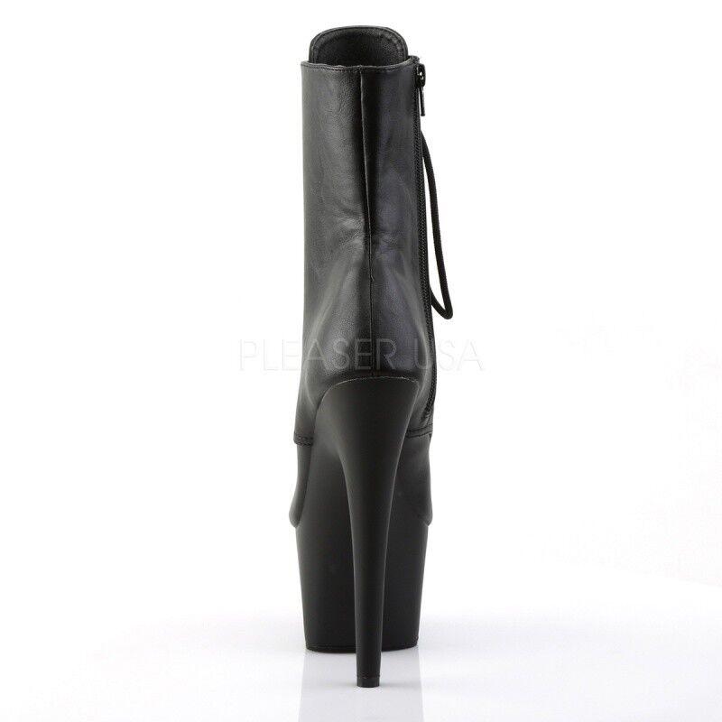 Pleaser adore - 1021 extremamujerte botines plataforma negro góticos góticos góticos grunge tabledance 3379f2
