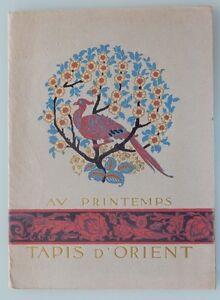 Ancien-catalogue-magasin-Au-Printemps-tapis-d-039-orient