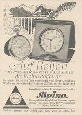 Y6533 ALPINA Uhren -  Pubblicità d'epoca - 1927 Old advertising