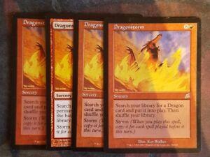 Magic: The Gathering Mtg Dragonstorm X 1 Great Condition