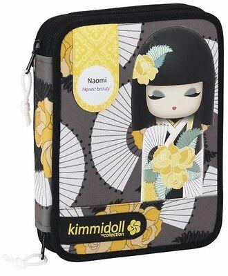 Estuche Kimmidoll Naomi con 24 lápices de colores, 20 rotuladores 56 piezas