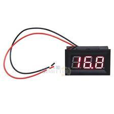 9V 12V 24V Red LED Digital Volt Voltage Panel Meter D C3.2 - 30V For Car Battery