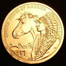 2012 P Sacagawea Native American Dollar From U.S Mint Rolls