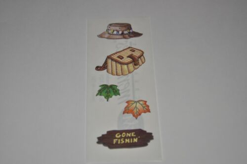 Trees Canoe,Tent Creative Memories Wilderness Stickers Camping Fishing