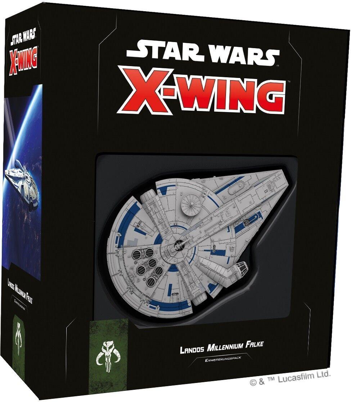 Star Wars Ala-X Landos Millennium Falke 2 Edizione Estensione (Tedesco) Rebell