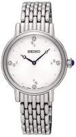 Seiko Women's Analog Quartz Crystals Stainless Steel Watch (SFQ805)