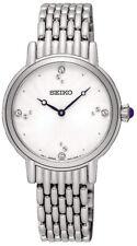 Seiko Women's Analog Quartz Crystals Stainless Steel Watch SFQ805