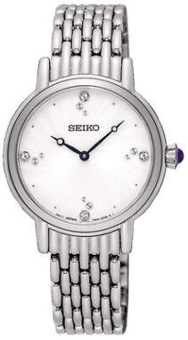 Seiko Women's Analog Quartz Crystals Stainless Steel Watch