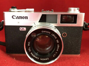 CANON-QL17-QL-with-45mm-lens-in-Leather-Case