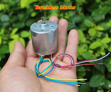 1pcs Dc 12v Brushless Dc Motor High Speed Small Motor With Hall