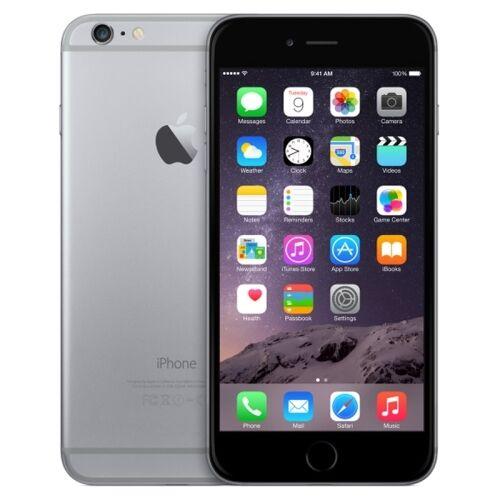 IPHONE DE APPLE 6 16 GB GRIS HORA SIDERAL GRADO DE UN SELLADO NO HUELLA DIGITAL