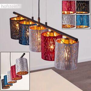 Pendel Beleuchtung modern Schlaf Wohn Ess Zimmer Lampe Hänge Leuchte 5-flammig