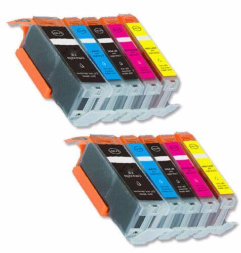 10-Pack//Pk PGI-270XL CLI-271XL Ink For Canon PIXMA MG5720 MG5721 MG5722 MG6821