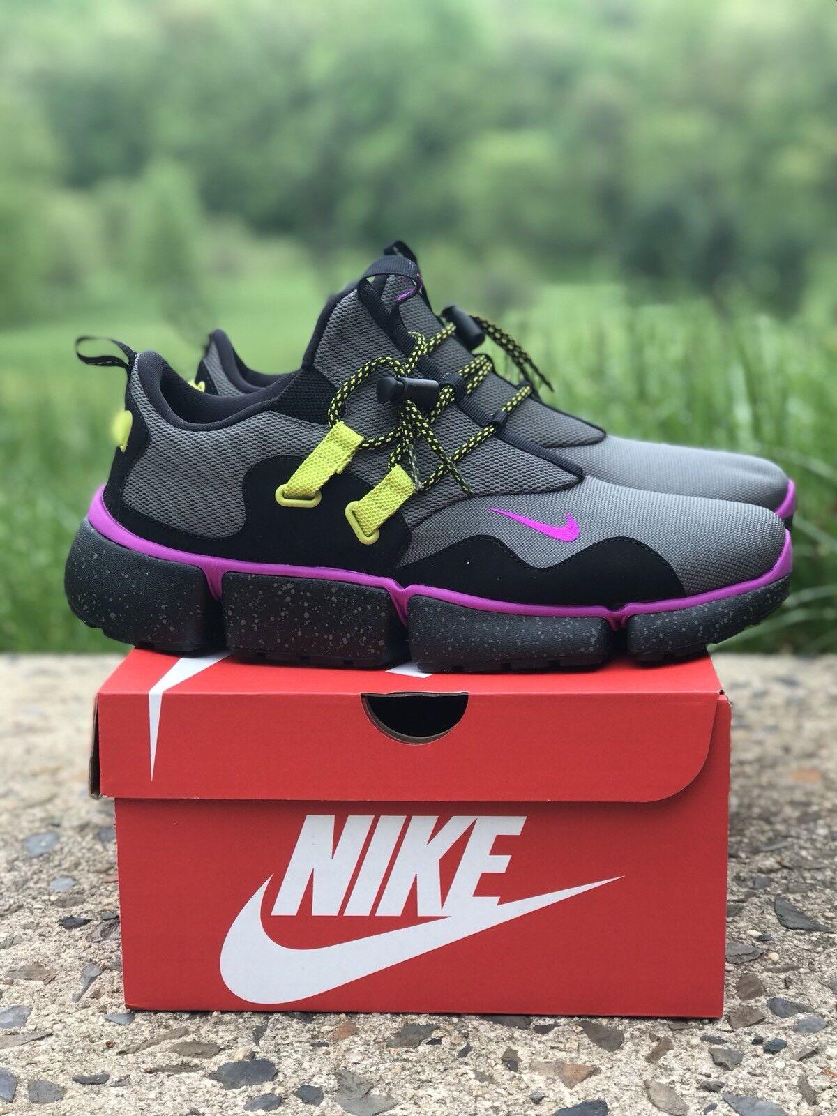 Nike coltellino dm su river rock violet nero ah9709 001 Uomo taglia &