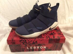 8084cee5ff0d Nike Lebron James Soldier XI Blue Size 17 New In Box Hard To Find ...