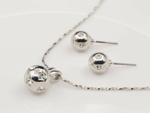 Woman fashion jewelry party dress crystal pendant choker necklace earrings K10