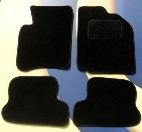 FORD FIESTA /& ST RHD 02-08 BLACK QUALITY CARPET CAR FLOOR MATS WITH CLIPS