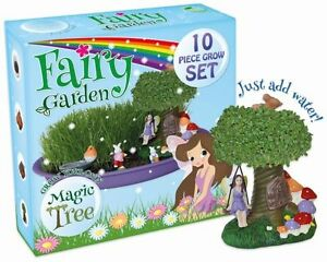 Grow Your Own Fairy Garden Magic Tree Kit Children Enchanted House