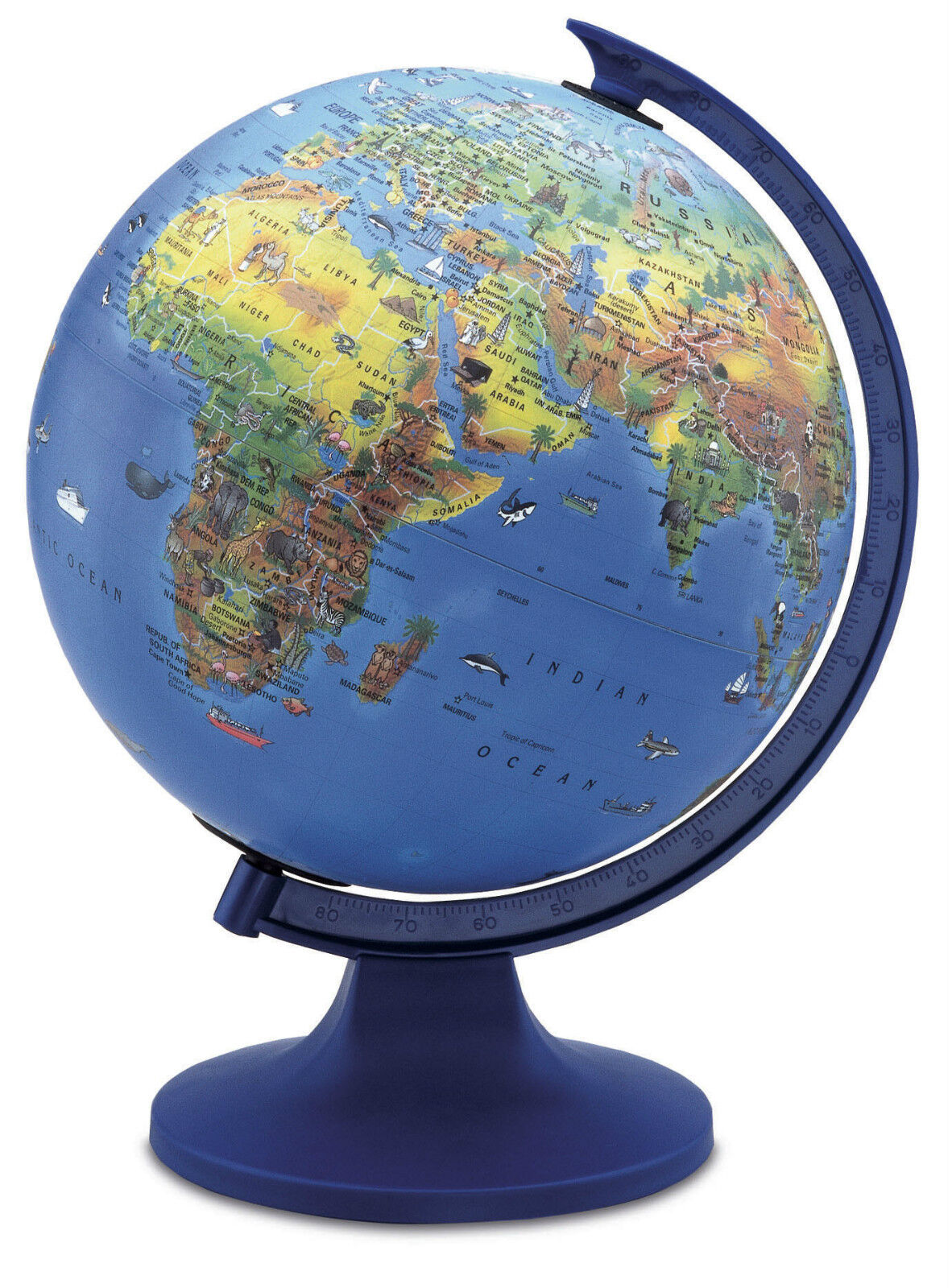 The Globe 4 Kids Educational Illuminated Desktop Globe Gift   20554